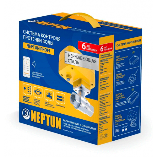 СКПВ Neptun ProW+ PROFI LIGHT 12В 3/4 (Код: B010)