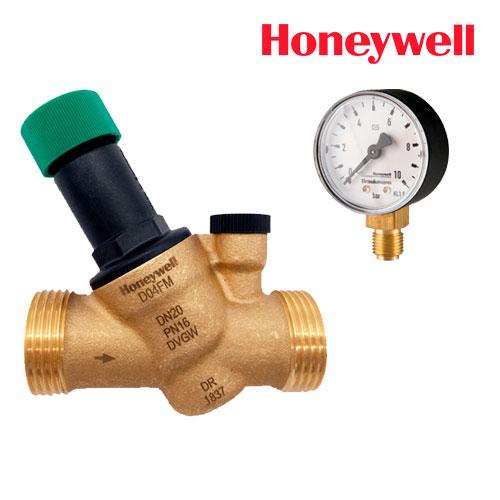 Редуктор давления HONEYWELL D04FM-1/2A с манометром М38К-А10