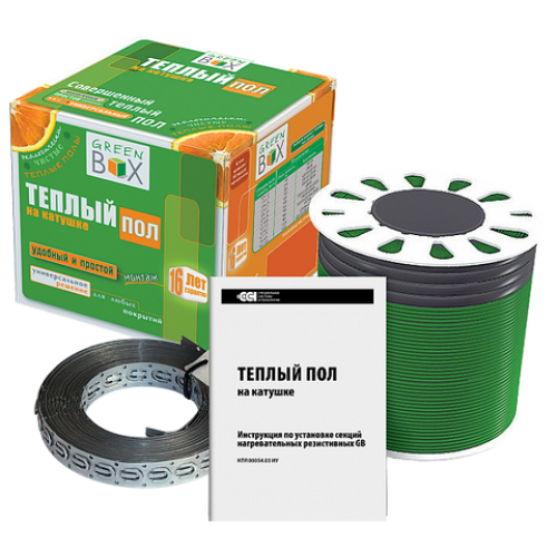 Кабель нагревательный  Green Box  GB 35,0 м/500 Вт