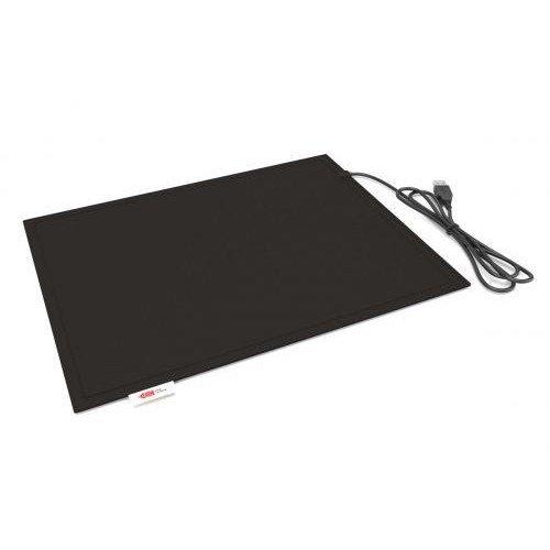 Килимок Lappo з підігрівом USB 32х26 см (чорний)